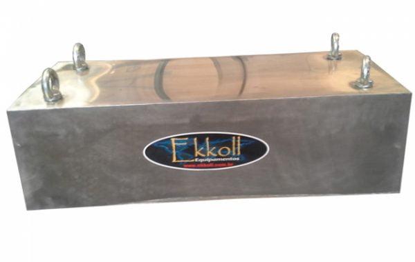 placa de separação magnética suspensa
