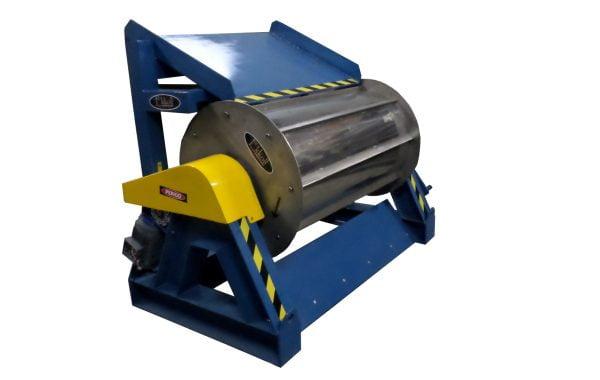 Tambor Magnético separador em Ferrite para descontaminação de escória de aciaria Ekkoll Nossa Empresa